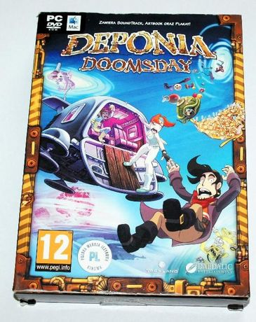 gra DEPONIA DoomsDay do komp.PC lub Mac