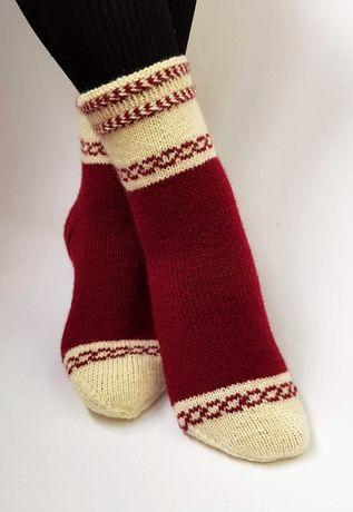 Вязаные носки. Изготовление на заказ и уже готовые варианты