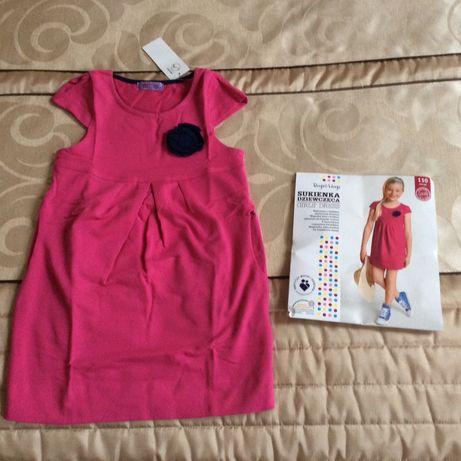 Sukienka nowa dla dziewczynki rozmiar 110.