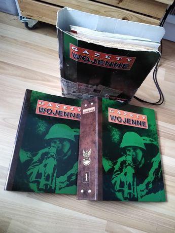 Gazety wojenne reprinty plakaty DUŻY ZESTAW
