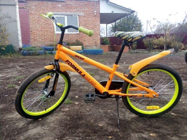 Велосипед на колесах 20