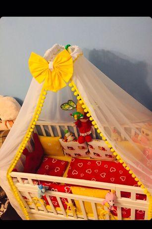Детская постель. Постель для новорожденных.