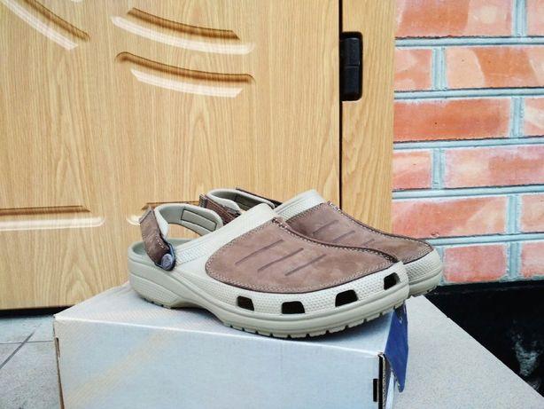 Тапочки Crocs crocband кроксы шлепанцы Adidas
