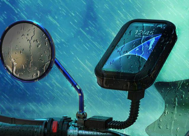 Чехол для телефона под зеркало мотоцикла скутер холдер держатель Glovo