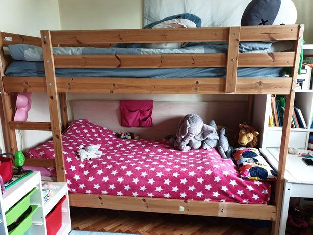 Rama łóżka piętrowego Ikea Mydal