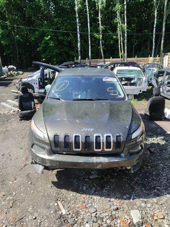 Jeep Cherokee kl FWD 2.4 c14по17г разборка  в наличии цвет PGX