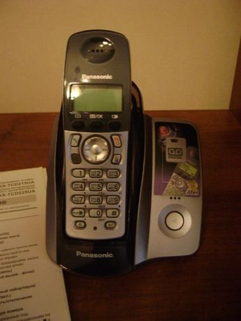 Радиотелефон Panasonic KX-TCD225UA