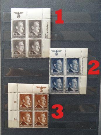 hitler gapa GG czyste znaczki pocztowe czwórka generalna gubernia