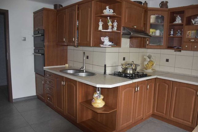Meble kuchenne używane black red white
