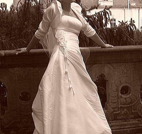 Suknia ślubna+ dodatki