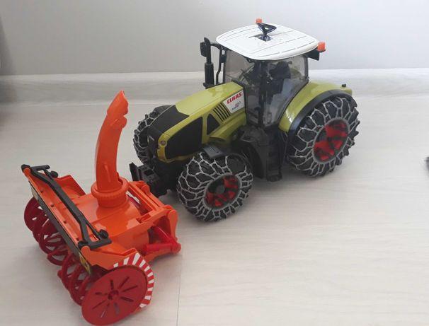 Traktor Class Bruder + pług śnieżny!