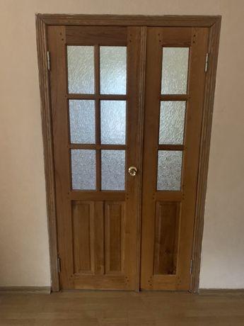 Двери нат сосна