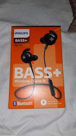 philips bass+ słuchawki bluetooth