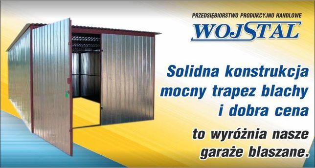 Garaże blaszane pod zamówienie Producent Wojstal