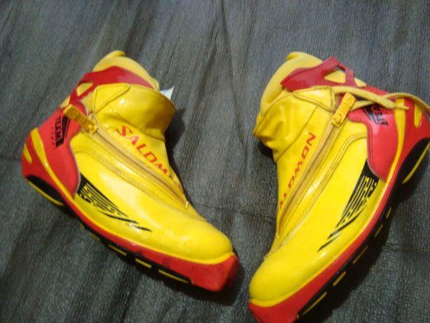 buty narciarskie biegówki Salomon Team -roz 39- 25cm-system SNS-Extra