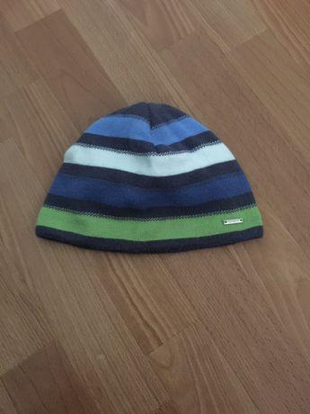 Демисезонная шапка на мальчика 4-5 лет