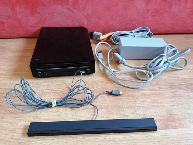 Consola Nintendo Wii em preto + acessórios