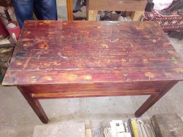 Стол старый на шплинтах