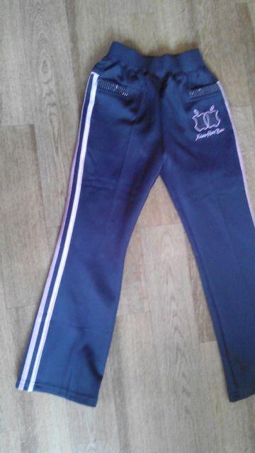 Спортивные штаны девочка