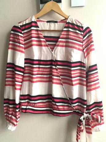 Bluzka Mohito materiał jersey rozm 34 stan idealny