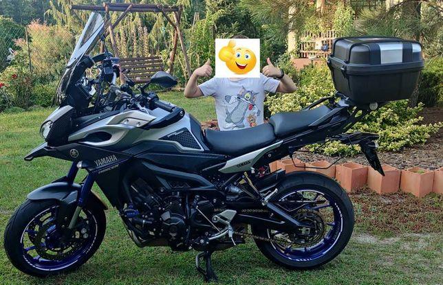 Yamaha Mt09 Tracer 07.2016 32tyś Zadbany, 3 klucze.