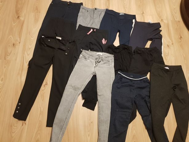 Paka ubrań 140 do s 50 sztuk kurtki