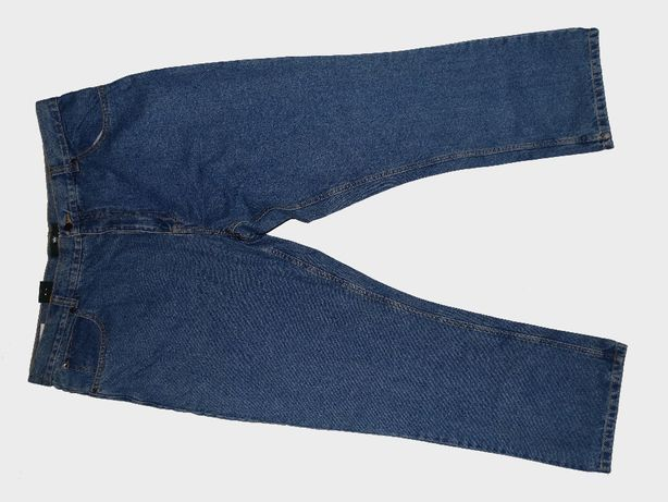 [Nowe] Spodnie KINGFIELD Jeans   Granatowe   Rozmiar 30   Plus Size