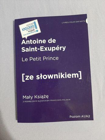 Książka Mały Książę do nauki francuskuego