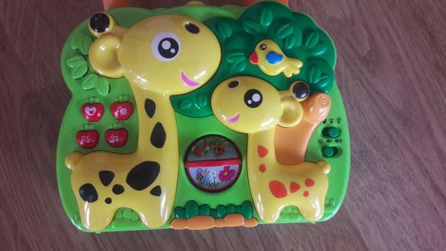 Pozytywka do łóżeczka projektor żyrafa , kołysanka śpiewa gra,dźwięki,