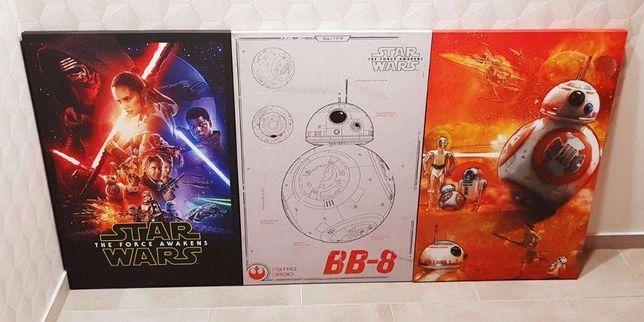 Star Wars Episode VII Gwiezdne Wojny Obraz na Płótnie 60x90cm