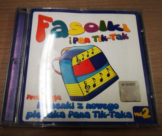 Fasolki i Pan Tik Tak płyta cd