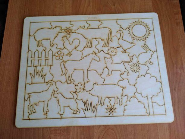 Kolorowanko-puzzle