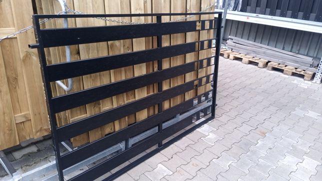 OBI okazje Przęsło ogr. Milano czarny mat 200 x 125 .Z 379 na 247zł