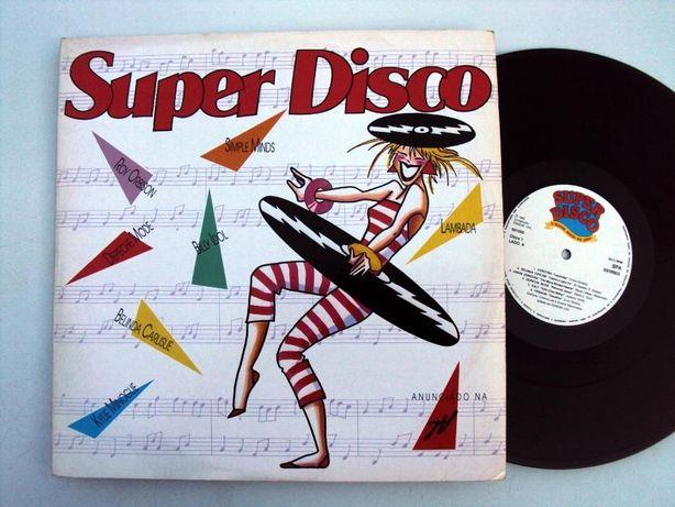 Discos vinil Super disco, 2 discos, 1989 - antiguidade
