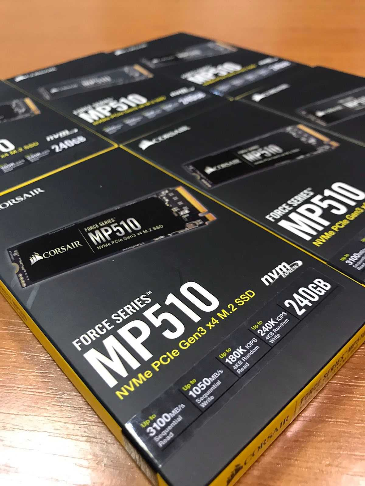 SSD Corsair Force Series MP510 240GB NVMe M.2 2280 PCIe 3.0