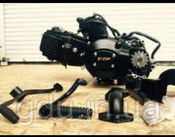 Мотор на мопед Альфа, Дельта, Актив 72, 110,125 куб. Двигатель мустанг