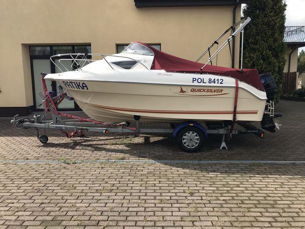 łódź motorowa quicksilver