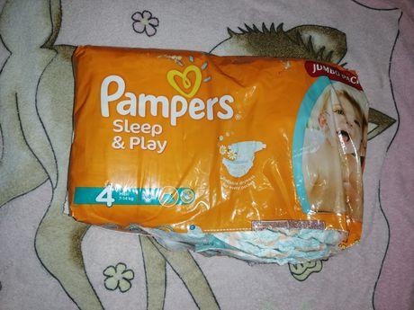 Подгузники Pampers Sleep and play 4
