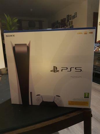 PS5 nova e selada