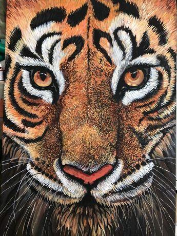 """Продается картина """"Тигр"""""""