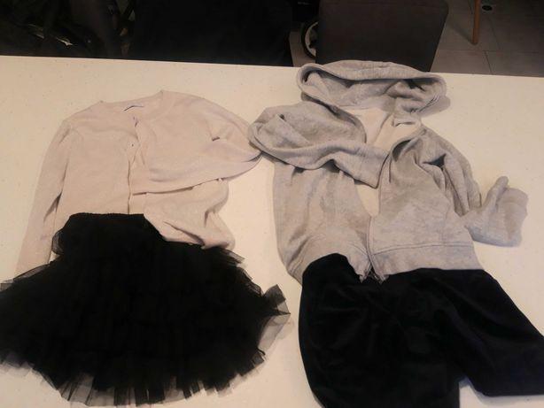 Spodenki sweterek bluza spódniczka HM NEXT PEPE JEANS RESERVED 140