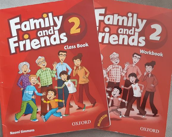 Family and friends 2. Учебник и тетрадь.
