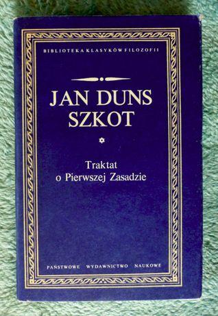 Traktat o pierwszej zasadzie, Jan Duns Szkot