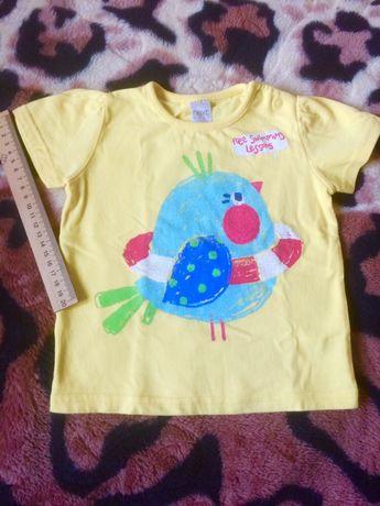Для новорожденных 3-6ме100% хлопок!Распашонка майка футболка Сорочечка