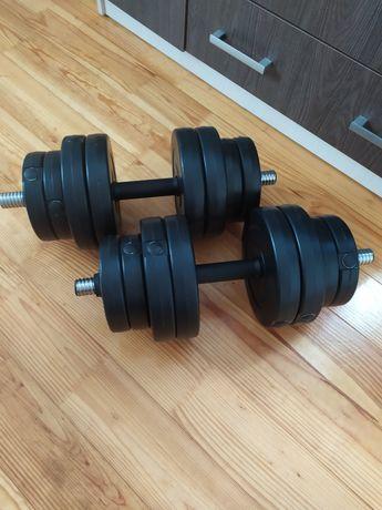 2 розбірні гантелі по 15 кг