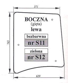 Zetor Proxima, Forterra szyba