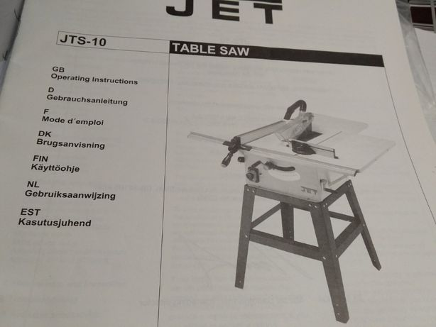 Циркулярная пила JET JTS-10