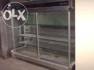 Expositor de sobremesas refrigerado 1350x600x1100 mm