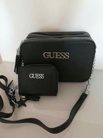 Komplet torebka plus portfel Guess