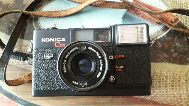 Konica C 35 aparat fotograficzny Japan
